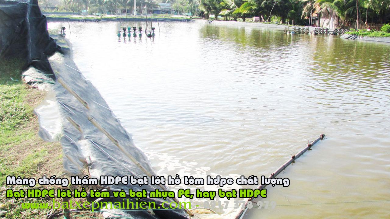 Bạt Lót Ao Hồ Nuôi Cá Tra cá Trê, Bạt Nhựa HDPE Lót Ao Nuôi Cá