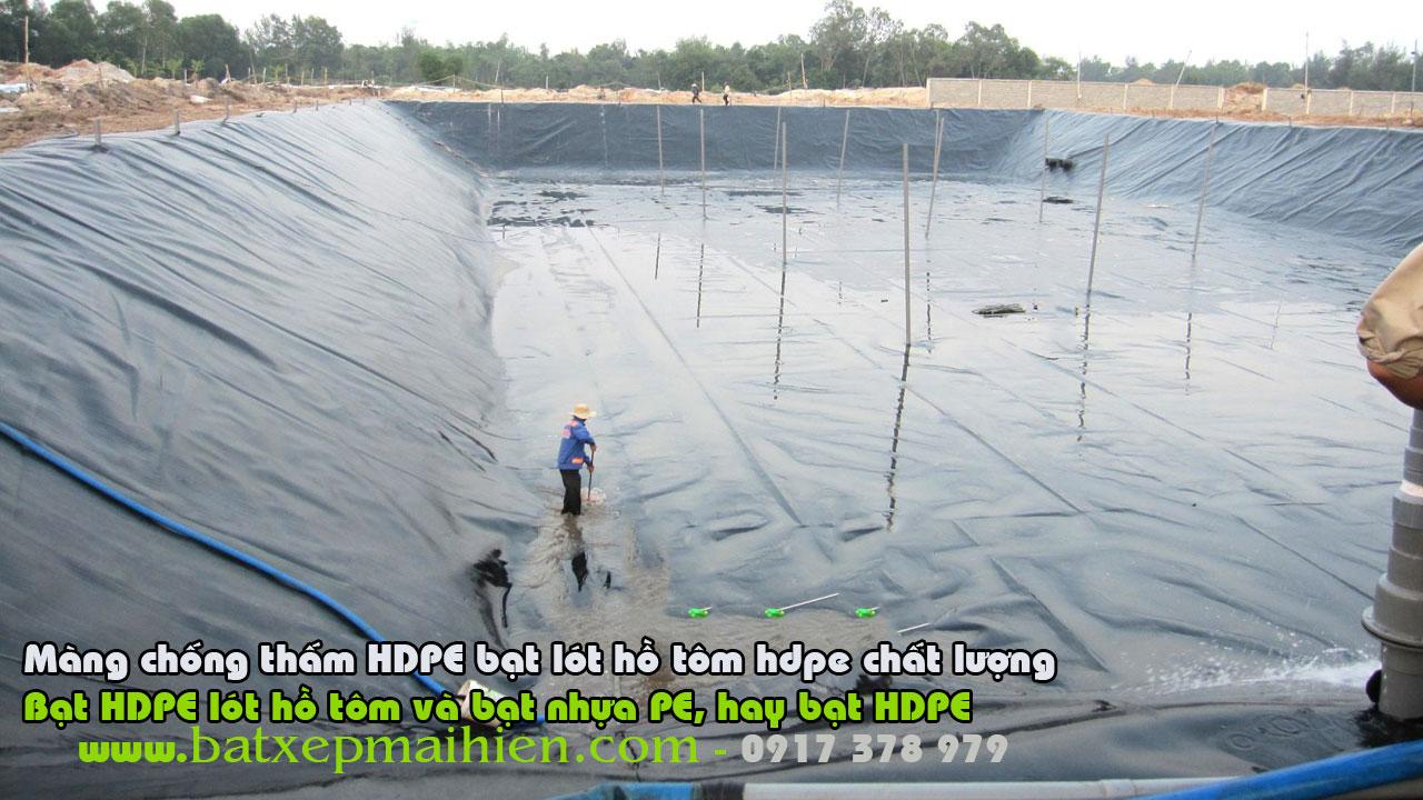 Bạt Lót Ao Hồ Nuôi Ốc Hương, Bạt HDPE Lót Hồ Nuôi Ốc Giá Rẻ