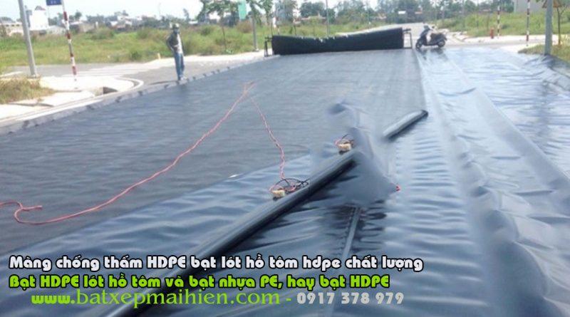 Bạt Lót Ao Nuôi Tôm Cá, Bạt nhựa PE HDPE Lót Hồ Nuôi cá Tôm
