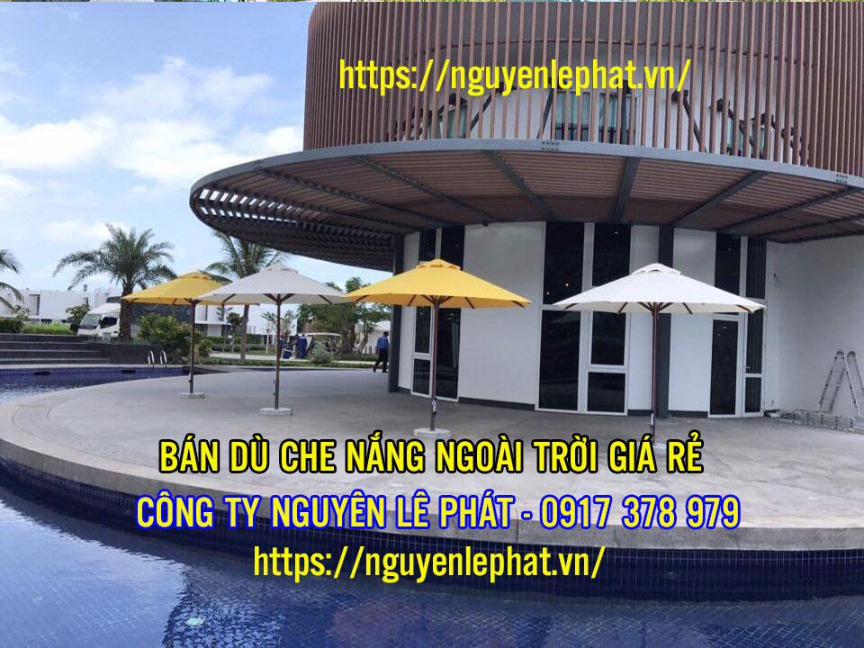 Bán Dù Che Nắng Quán Cafe Đồng Tâm tại TPHCM Giá Rẻ [GIAO HÀNG TẬN NHÀ UY TÍN]