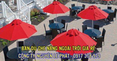 Dù Che Nắng Quán Cafe tại Nha Trang