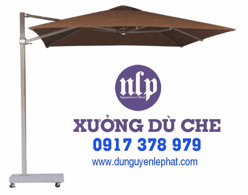 Bán Dù Che Nắng Cafe Sân Vườn tại Bình Dương