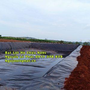 Bạt Lót Hồ Chứa Nước Tưới Cây Nuôi Cá Tôm Ninh Thuận