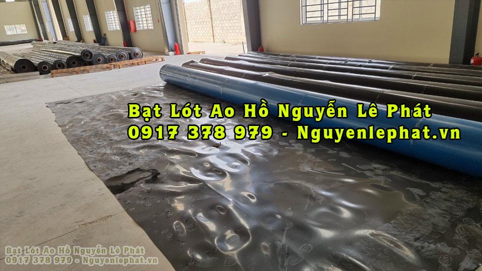 Báo giá bạt nhựa HDPE lót hồ nuôi cá giá rẻ tại Biên Hòa