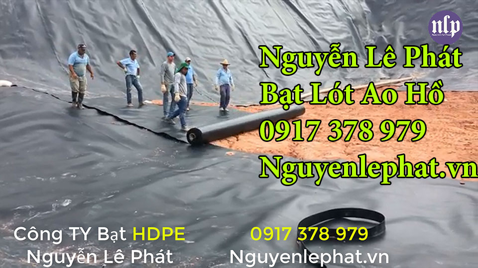bạt lót ao hồ chứa nước nuôi cá Đồng Nai