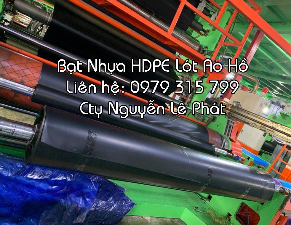Bạt Nhựa HDPE Lót Hồ Cá Biên Hòa, Bạt HDPE Biên Hòa